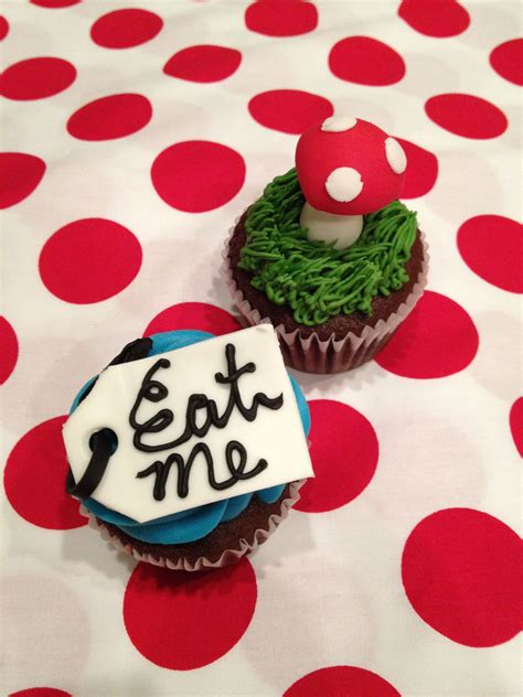 Maybe you would like to learn more about one of these? Alice in Wonderland Cupcakes   Alice in wonderland ...