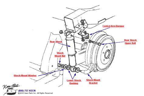 Corvette Rear Shock Parts Accessories