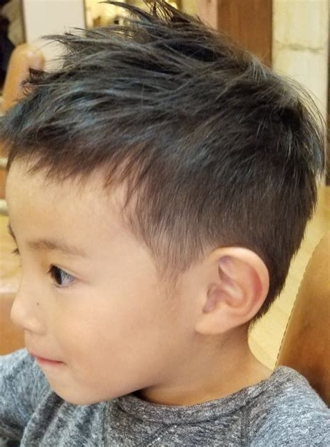 海外 キッズ 髪型 男の子