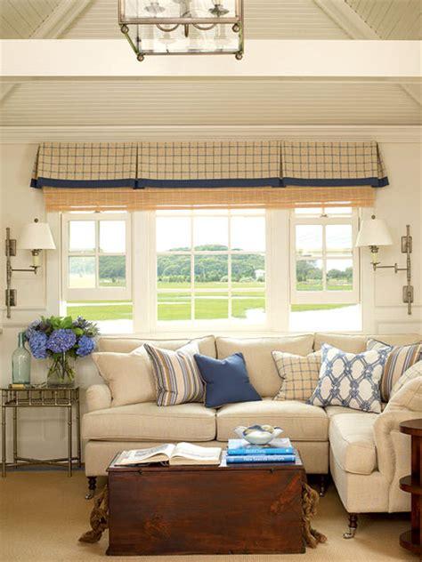 cottage livingroom home interior design blue living room