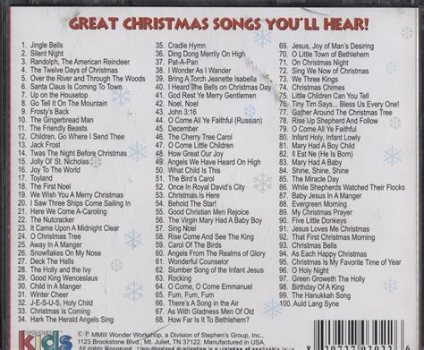 A Treasury Of The Top 100 Christmas Songs For