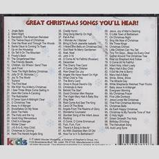 wonder kids a treasury of the top 100 christmas songs for - Christmas Songs Religious