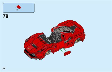 These are the instructions for building the lego speed champions ferrari f8 tributo that was released in 2020. LEGO 76895 Ferrari F8 Tributo Instructions, Speed Champions
