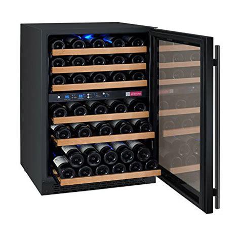 koldfront wine cooler review allavino flexcount vswr56 2bwrn black 56 bottle dual zone