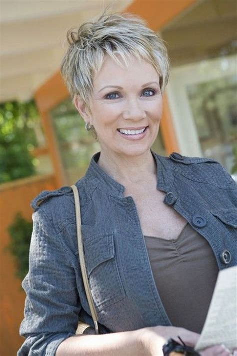 Really modern and handy short haircut. 54 Short Hairstyles for Women Over 50. Best & Easy Haircuts
