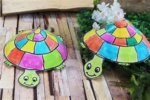 Faire Un Thé Glacé : fabriquer une tortue avec une assiette en carton ~ Dode.kayakingforconservation.com Idées de Décoration
