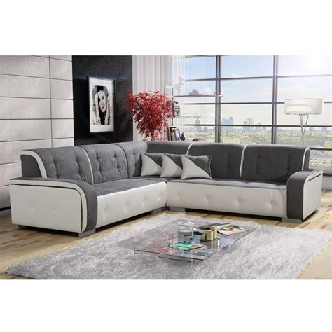 canape cuir blanc et gris canape cuir blanc et gris 28 images canap 233 d angle