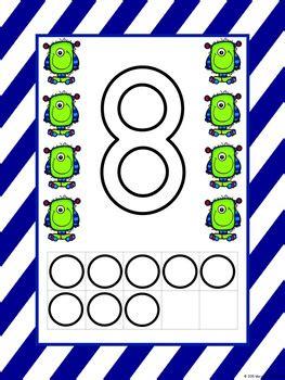 numbers   playdough mat worksheets counting mat