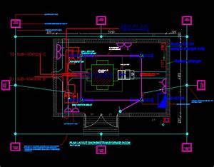 Switch Room In Autocad