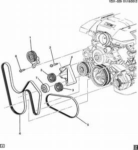 2014 Chevrolet Camaro Ss  2ss  2dr Belt Kit  Drive  Belt