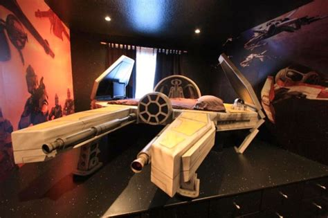 fan for your bed star wars themed bedrooms mean you can literally eat and