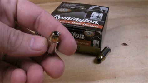 ultimate 102 test 380 acp remington ultimate home defense 102 gr jhp