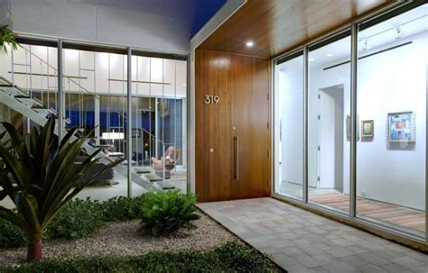 amenagement entree maison exterieur am 233 nager une entr 233 e de maison moderne