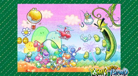 Yoshis New Island Game Review Omg Girls Game