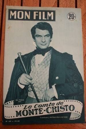 1955 jean marais le comte de monte cristo hayworth