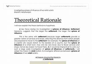 thesis rationale format