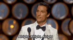 Matthew McConaughey says Alright Alright Alright to these ...