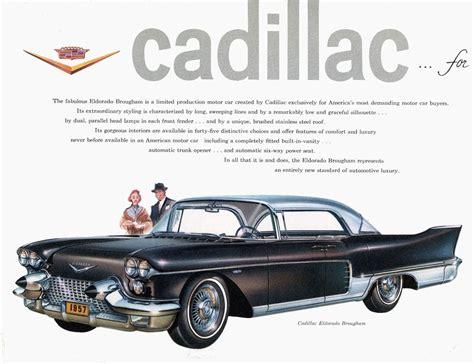1957 Cadillac Eldorado Brougham Ad