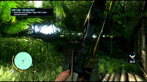 Far Cry Path The Hunter Rare Golden Tiger Youtube