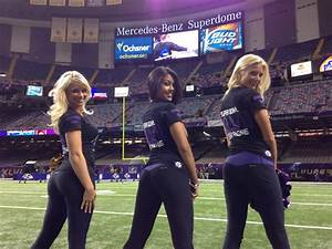 Ravens Cheerleaders From Harford In New Orleans  Pictures