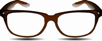 Glasses Brown Clip Clipart Clker Ocal Shared