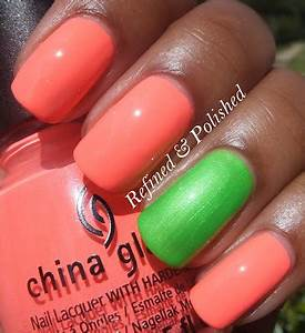 Refined and Polished Pink Wednesday China Glaze Neon Lasers
