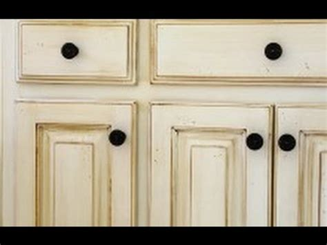 how to antique cabinets antique white kitchen cabinets for awesome interior home