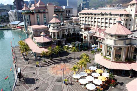 caudan waterfront port louis shopping ile maurice ile