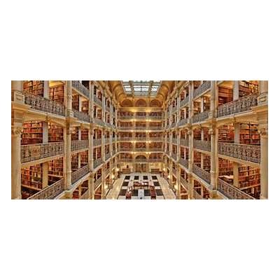 George Peabody Library Johns Hopkins University