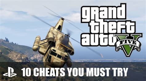 10 Grand Theft Auto V Cheats You Must