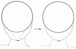 best photos of anime head template anime head outline With anime head template