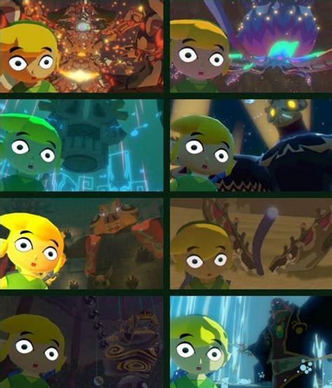 The Legend Of Zelda The Wind Waker Hd Toon Link Gohma
