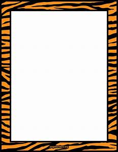 Tiger print border frame. | Tiger | Pinterest | Tiger ...