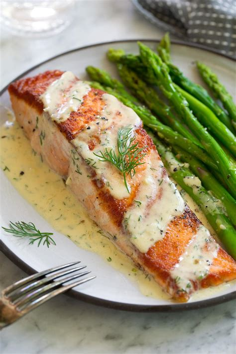 salmon  creamy garlic dijon sauce cooking classy