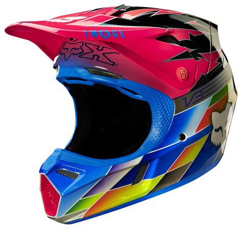 pink motocross helmets fox racing v3 image sx15 atlanta le helmet revzilla