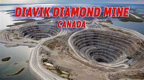 giant holes diavik diamond  canada vendora