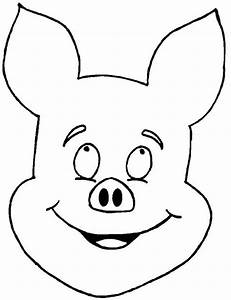 Pig Face Coloring Page - AZ Coloring Pages