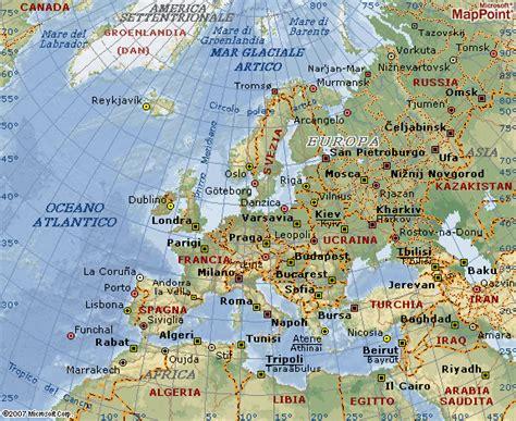 L'Europa e i suoi mari