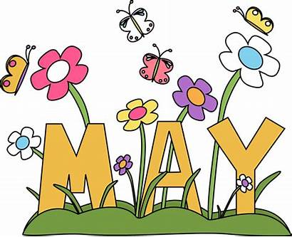 Month Flowers Clip Word Clipart Months Graphics