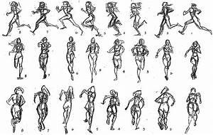 Pocahontas's run in gestural studies (posted on Facebook ...
