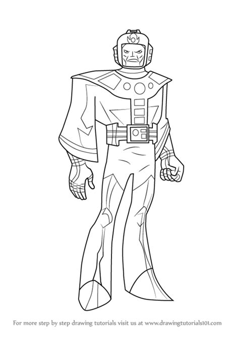 learn how to draw kang the conqueror from the avengers