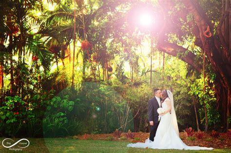 attractive miami botanical garden wedding