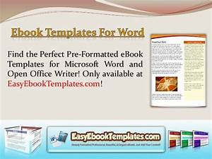 Ebook templates for word for Free ebook templates for word