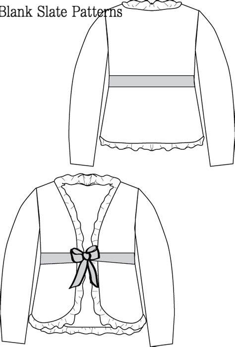 Blank Slate Ruffled Cardigan- Child's cardigan