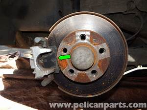 Volkswagen Jetta Mk4 Rear Brake Pad Replacement