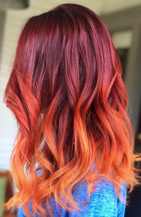 The Most Gorgeous Red Ombre Hair Ideas For Fiery Ladies