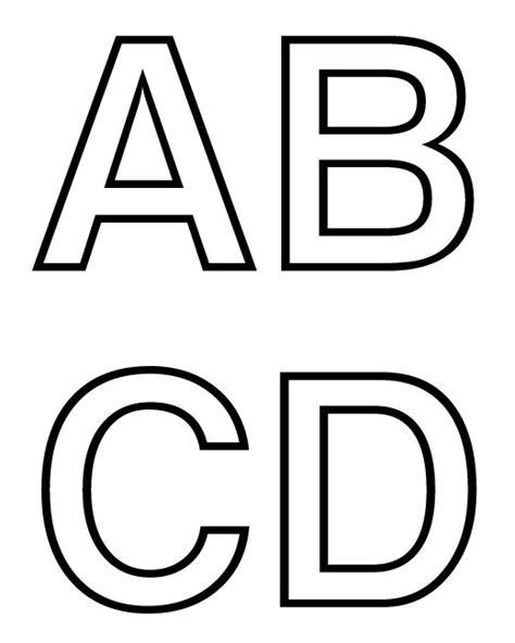 dibujos y plantillas para imprimir abecedario letras para