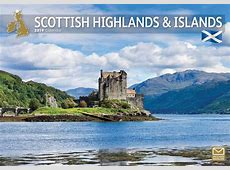 Scottish Highlands & Islands A4 Calendar 2019 Calendar