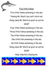 Nursery Rhymes Australia by Five Little Fishes Swimming In The Sea By Yjdj Teaching