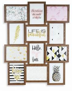Bilderrahmen Für Collage : levandeo bilderrahmen collage 51x68cm 12 fotos 13x18 ~ Watch28wear.com Haus und Dekorationen